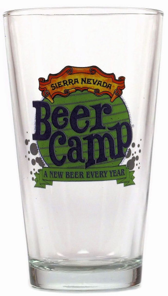 BEER CAMP PINT GLASS