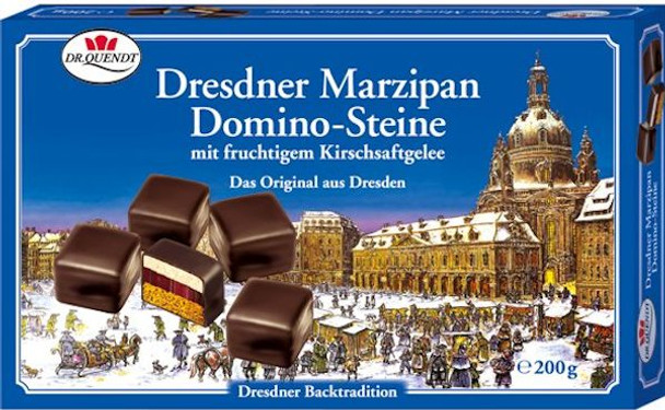 DR. QUENDT DRESDNER MARZIPAN DOMINO-STEINE