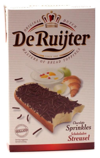 DE RUITJER DARK CHOCOLATE SPRINKLES 400g