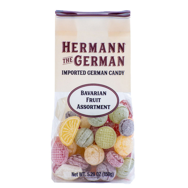 HERMANN THE GERMAN BAVARIAN FRUIT CANDY 150g