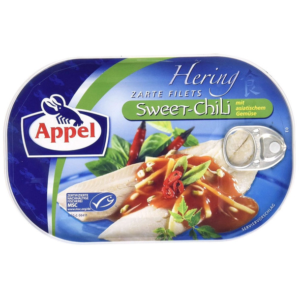 APPEL HERRING IN SWEET CHILI SAUCE 200g