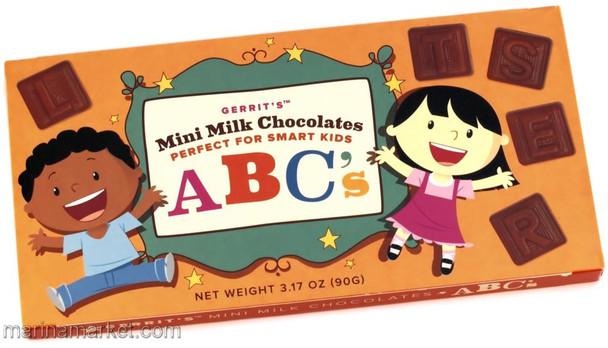 GERRIT'S MINI CHOCOLATE ABC'S 90g