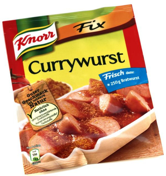KNORR CURRYWURST MIX 36g