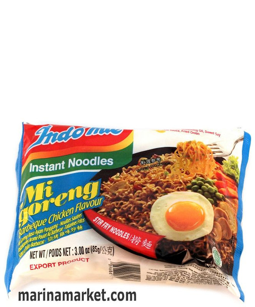 INDO MIE BBQ FRIED CHICKEN NOODLES 85g