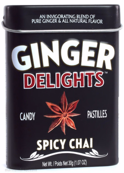 BIG SKY GINGER DELIGHTS SPICY CHAI 30g