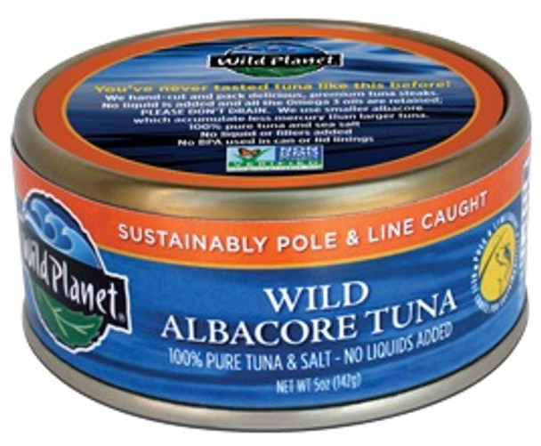 WILD PLANET WILD ALBACORE TUNA 5oz