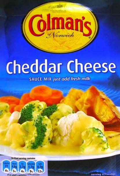 COLEMANS CHEESE SAUCE 40g