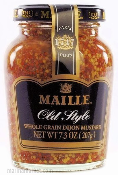 MAILLE WHOLE GRAIN DIJON MUSTARD 207g