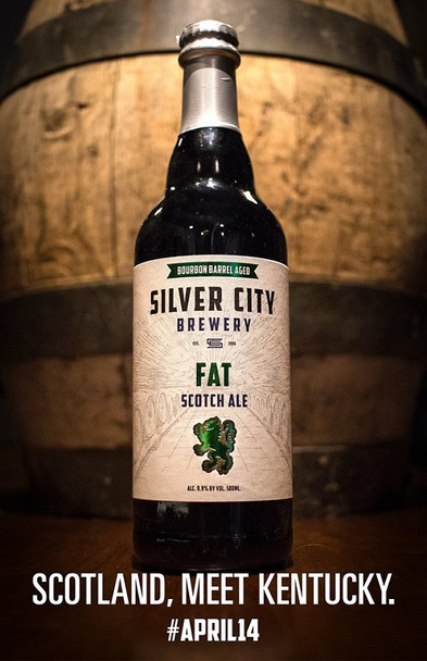 SILVER CITY BOURBON BARREL FAT SCOTCH ALE 22oz