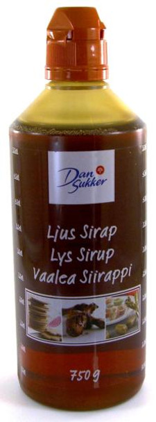DAN SUKKER SWEDISH LIGHT SYRUP 750g