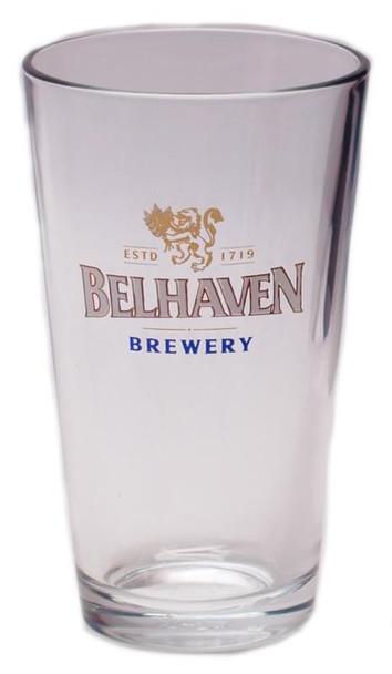 BELHAVEN PINT BEER GLASS