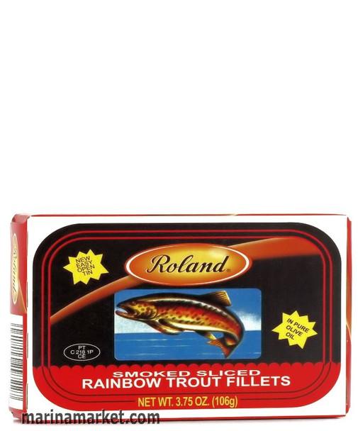 ROLAND RAINBOW TROUT FILLETS 106g