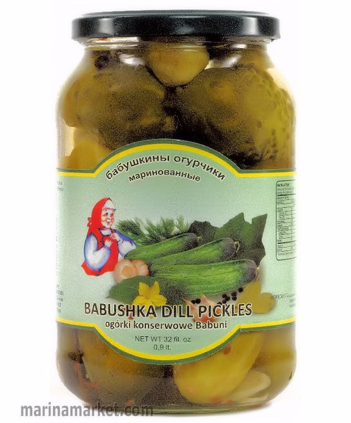 BABUSHKA POLISH DILL PICKLES 900ml