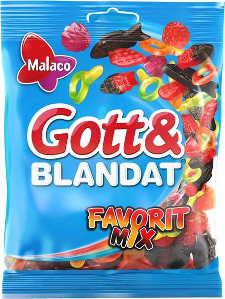 GOTT & BLANDAT FAVORITE MIX 450g