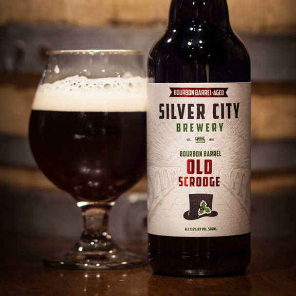 SILVER CITY BOURBON BARREL AGED OLD SCROOGE