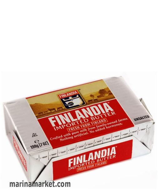 UNSALTED FINLANDIA BUTTER 198g