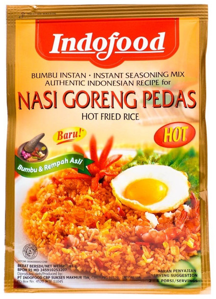 INDOFOOD NASI GORENG PEDAS MIX HOT 50g