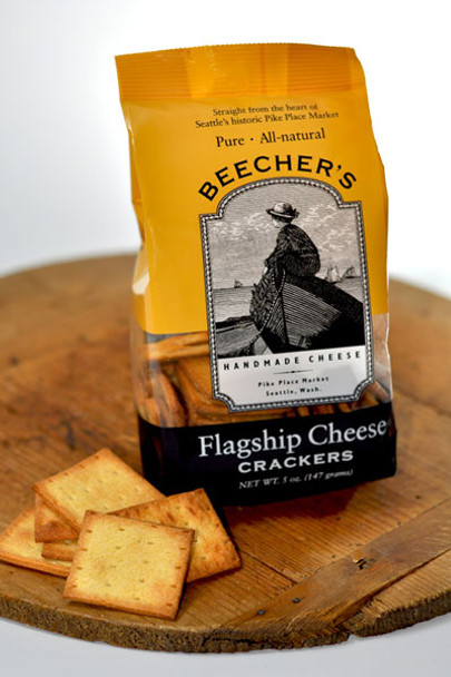 BEECHERS FLAGSHIP CHEESE CRACKERS 5oz