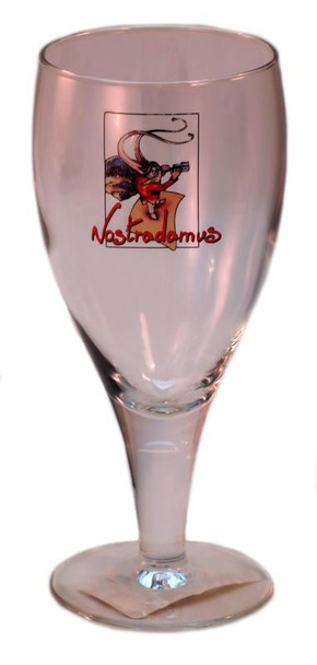 BEER GLASS NOSTRADAMUS