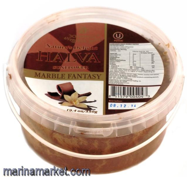 HALVA  VANILLA LICORICE 360g