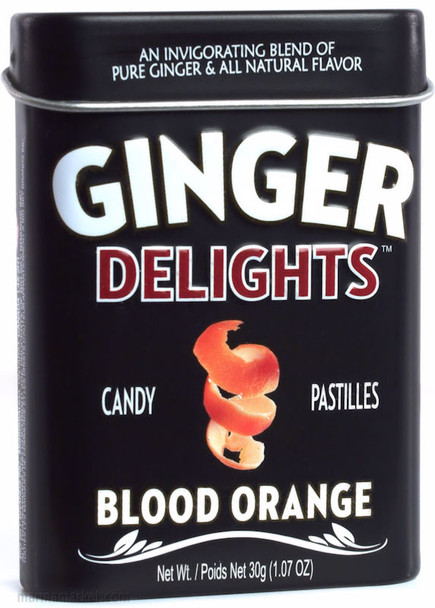 BIG SKY GINGER DELIGHTS BLOOD ORANGE 30g