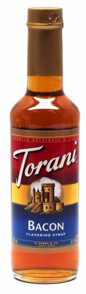 TORANI BACON SYRUP 375ML