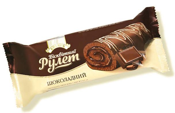 ROSHEN CHOCOLATE SWISS ROLL 240g