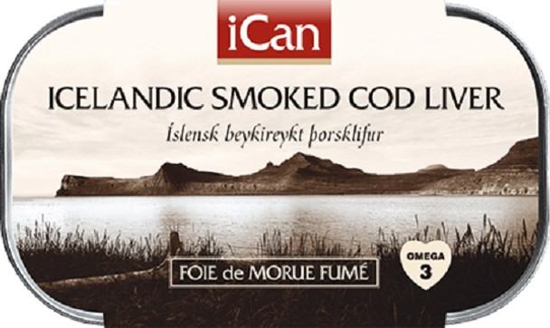 ICELANDIC COD LIVER 115g