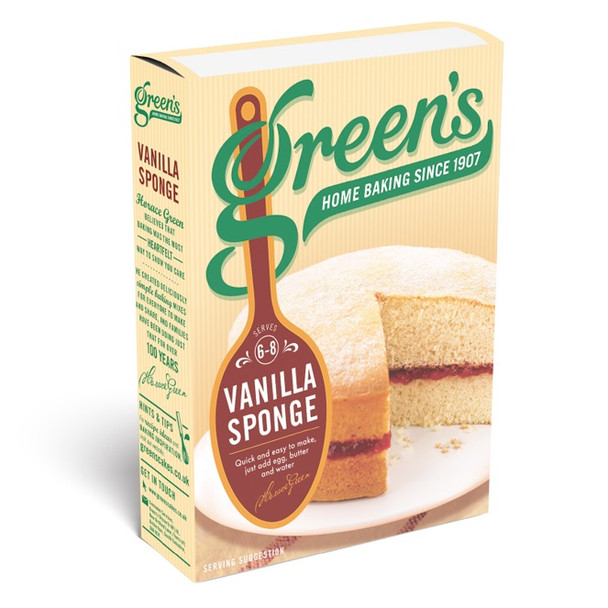 GREEN'S VANILLA SPONGE MIX 221g