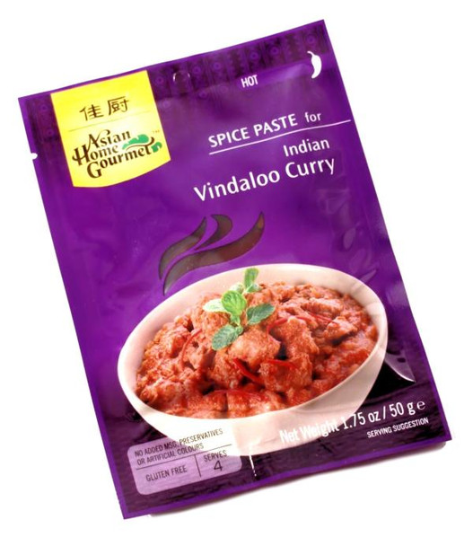 ASIAN HOME GOURMET VINDALOO CURRY 50 g