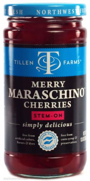 TILLEN FARMS MARASCHINO CHERRIES 14oz