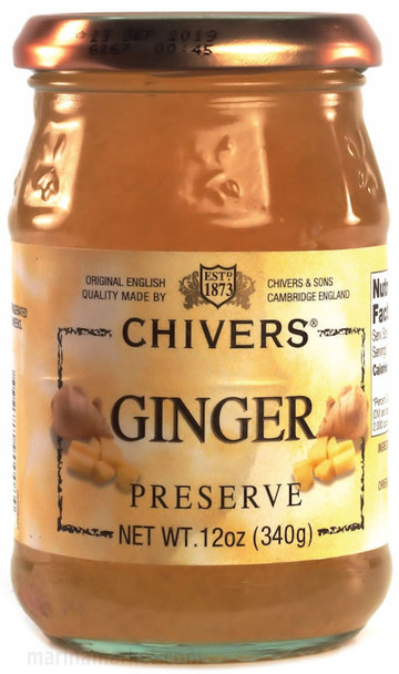 CHIVERS GINGER PRESERVE 340g