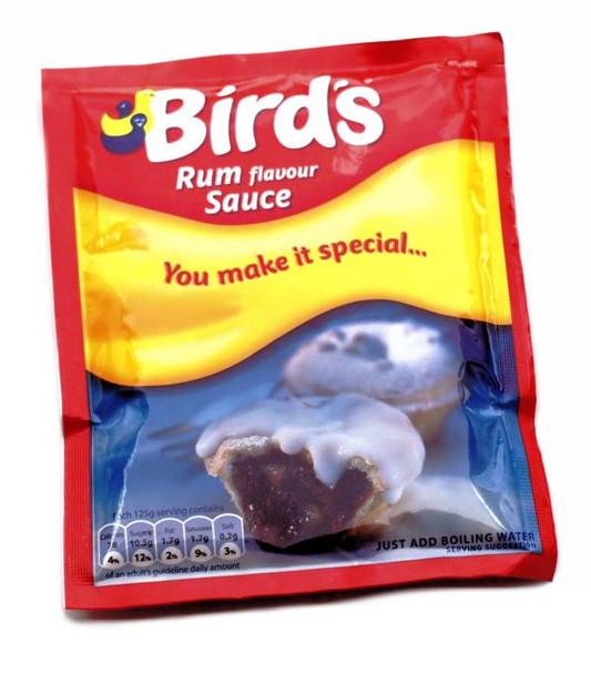 BIRD'S RUM SAUCE 74G