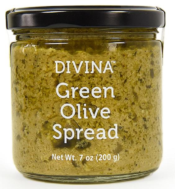 DIVINA GREEN OLIVE SPREAD 200g