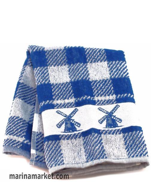 KITCHEN TOWEL BLUE WINDMILL