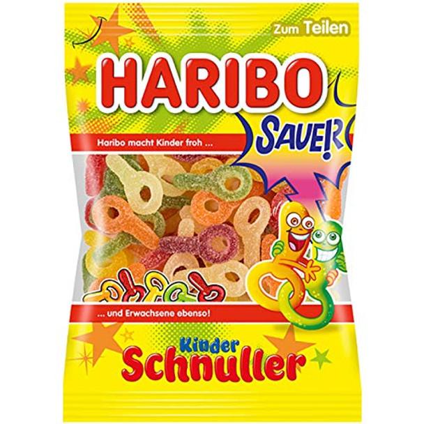HARIBO KINDER SOUR SCHNULLER 200g