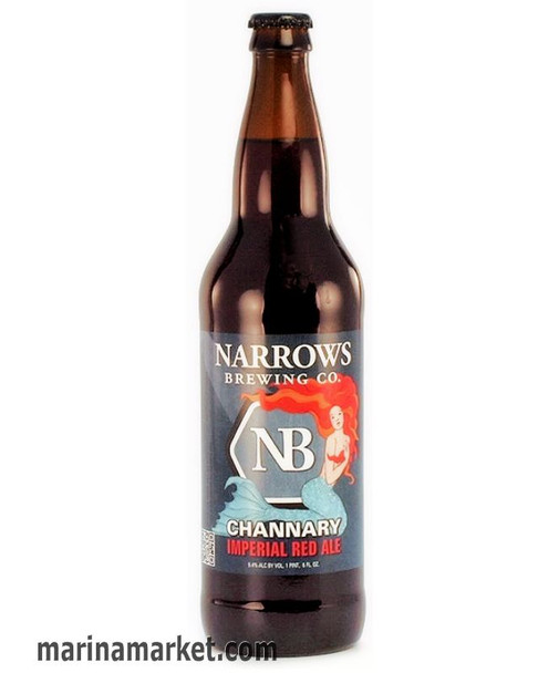 NARROWS CHANNARY IMPERIAL RED ALE 22oz