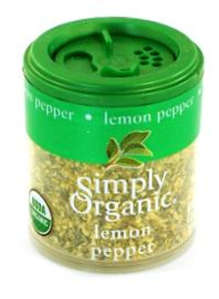 ORGANIC LEMON PEPPER 20G