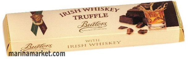 BUTTLERS IRISH WHISKY TRUFFLE BAR  75g