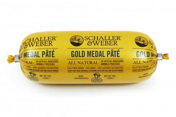 SCHALLER & WEBER GOLD MEDAL PATE' 7oz