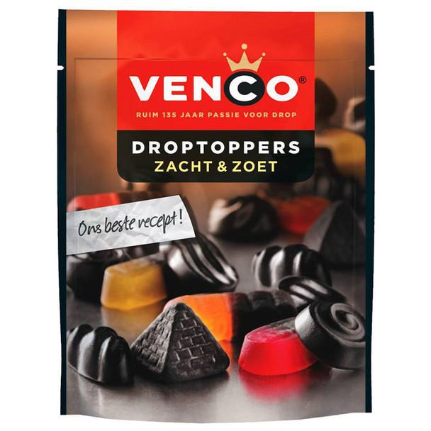 VENCO DROPTOPPERS ZACHT & ZOET SOFT & SWEET 210g
