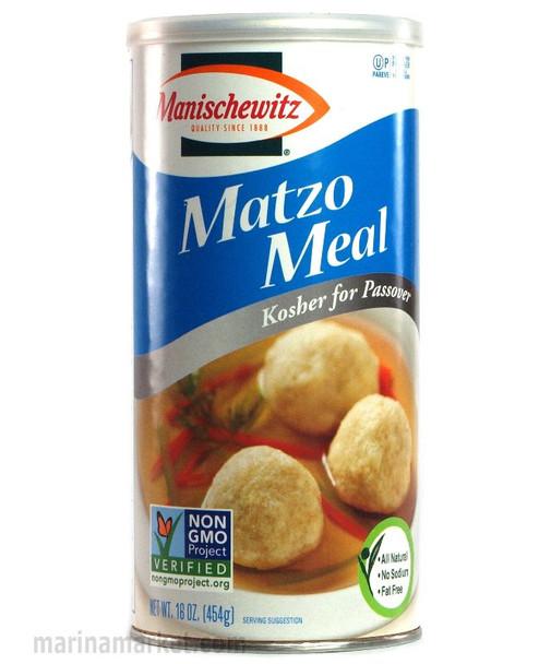 MANISCHEWITZ MATZO MEAL KOSHER 16oz