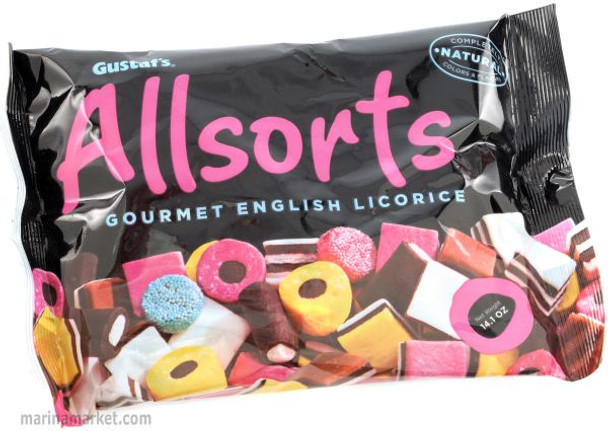 GUSTAF'S ALL NATURAL ALLSORTS 14.1oz