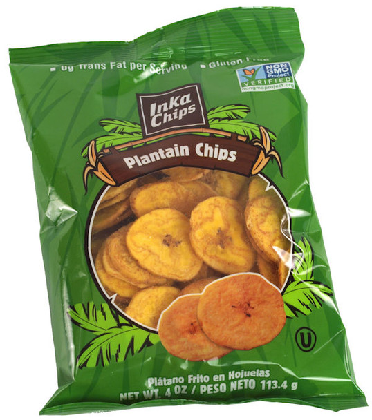 INKA PLANTAIN CHIPS 4oz