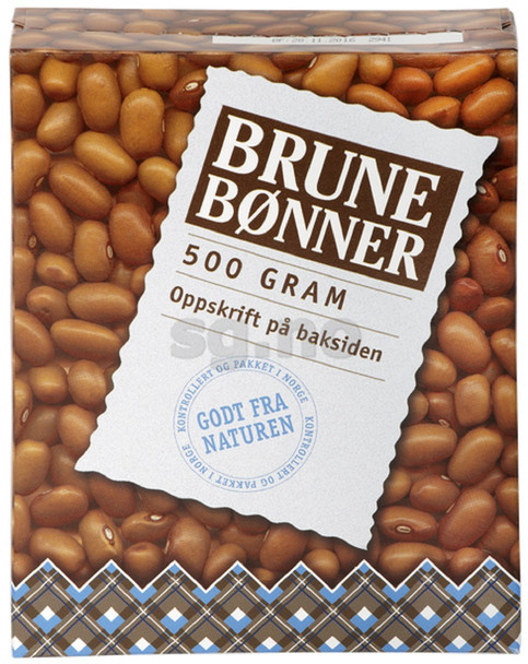 SAGA BROWN BEANS BRUNE BONNER 500g