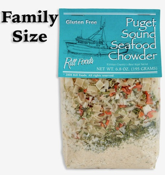 PUGET SOUND SEAFOOD CHOWDER MIX