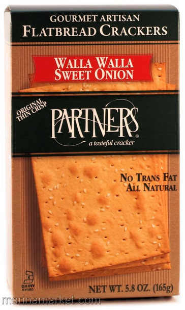 PARTNERS WALLA WALLA CRACKERS 5.8oz