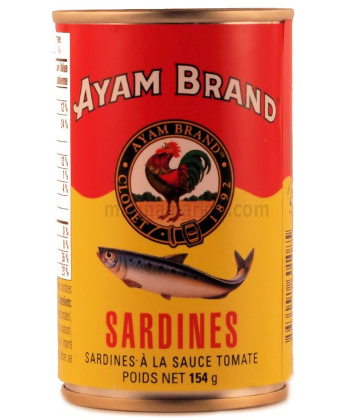 AYAM SARDINE IN TOMATO SAUCE 154g