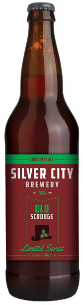 SILVER CITY OLD SCROOGE CHRISTMAS ALE 22oz