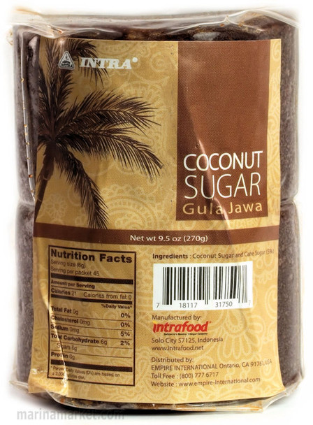 INTRA COCONUT PALM SUGAR